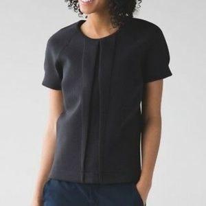 Lululemon Black T-shirt